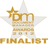 Cleardata is a finalist in the 2012 Document Manager Awards