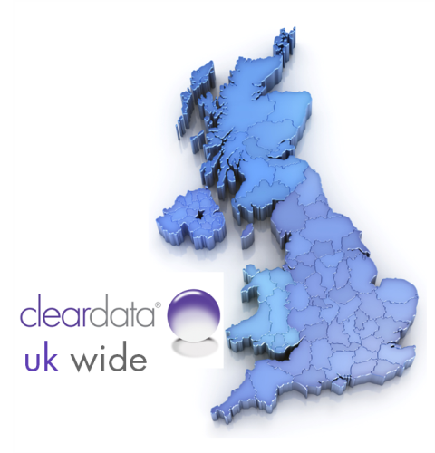 Cleardata document scanning operates throughout the UK