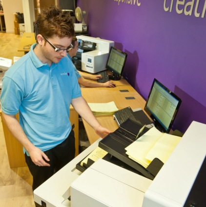 Cleardata's Bureau delivers Bulk Document Scanning Services