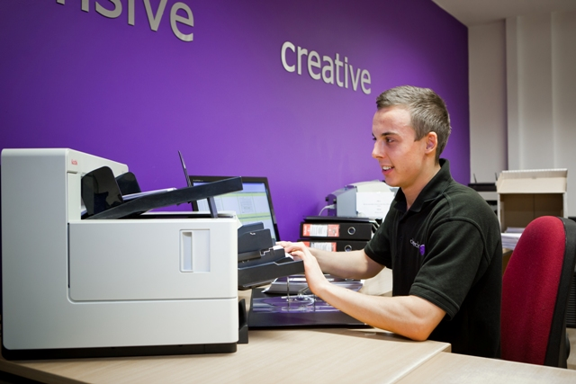 Document Scanning Newcastle and North East from Cleardata.